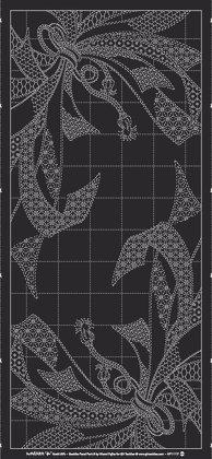 Sashiko Panel -Milko Black HF1117-A02BL