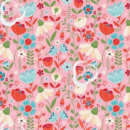 Enchanted Forest Blooms by Camelot Fabrics -61190302-01