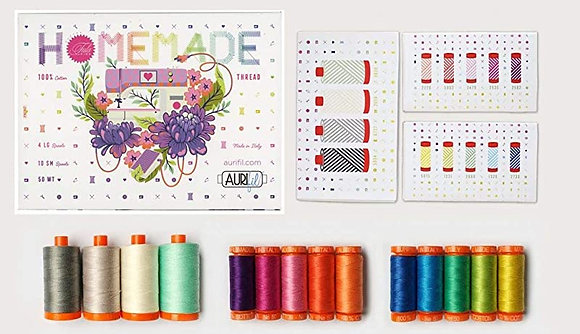 Aurifil Thread - Tula Pink Homemade Collection