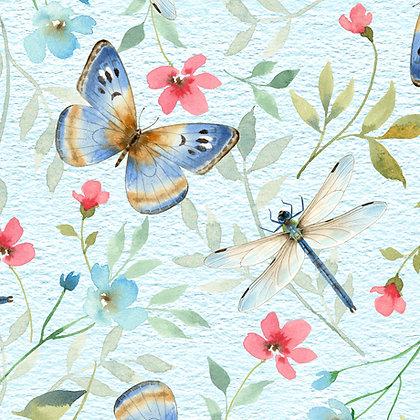 QT Fabrics - Wildflower Farm - 28148B