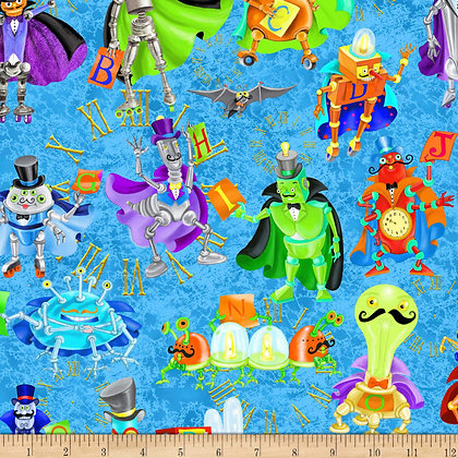 Bits and Bots by QT Fabrics 1649-26715-B
