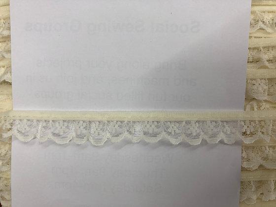 Gathered Nylon Lace #134