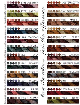 Cottage Garden Threads 1701-2006