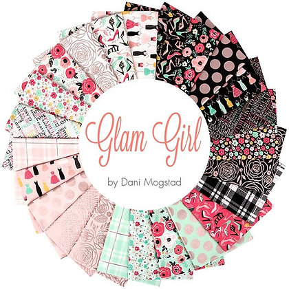 "Glam Girl by Riley Blake 10"" Stacker"