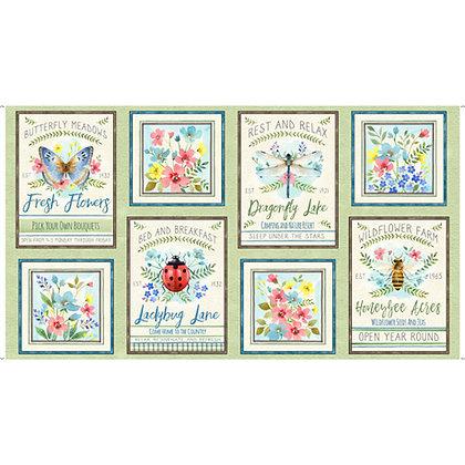 QT Fabrics - Wildflower Farm - 28147H