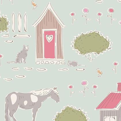 Tilda Tiny Farm - Tiny Farm Mist 10011