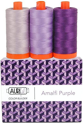 Aurifil Thread - Colour Builder - Amalfi Purple