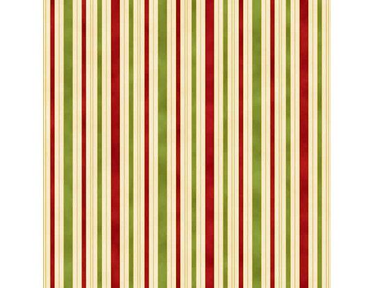Hampton Strip Red/Green 0011-1