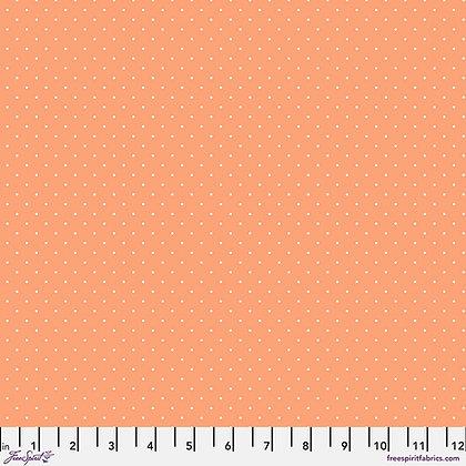 Tula Pink - True Colors - Tiny Dots PWTP185.Peachy