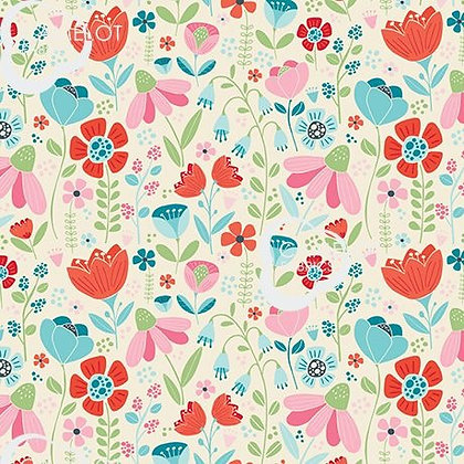 Enchanted Forest Blooms by Camelot Fabrics 61190302-02
