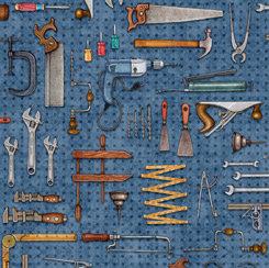 Dan Morris by QT Fabrics - A Little Handy - 28196B