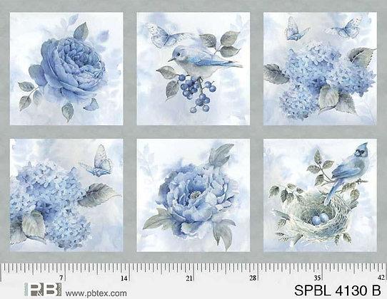 Spring Blue by PB Textiles PB4130B
