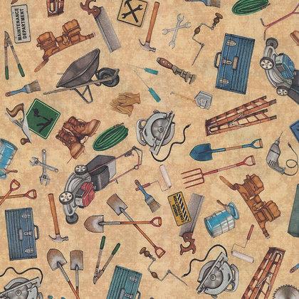 Dan Morris by QT Fabrics - A Little Handy - 28195A