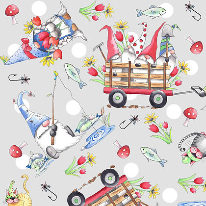 Gnomesville By QT Fabrics 27663K