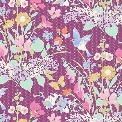 Tilda Gardenlife Collection -100310 Gardenlife Plum