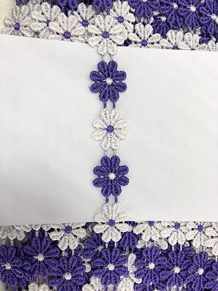 Flower Guipure Lace #131953