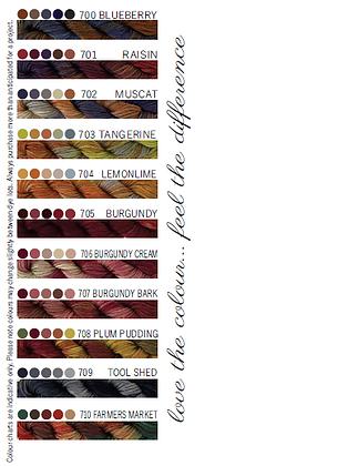 Cottage Garden Threads 700-710