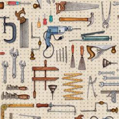 Dan Morris by QT Fabrics - A Little Handy - 28196E