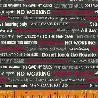 Windham Fabrics - Man Cave - 52414-5