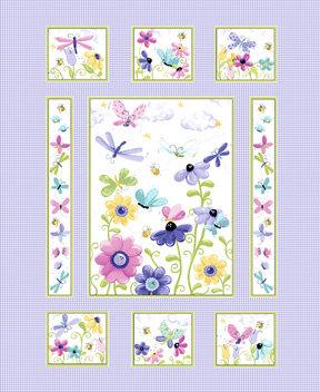 Flutter Panel by Susybee Fabrics SB20265-620