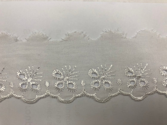 """Brodeire Anglasie Flat Lace """"Cambric"""" #7348"""