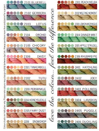 Cottage Garden Threads 2101-2406
