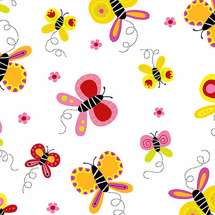 Buzzin Around - Butterflies Warm - A9381O