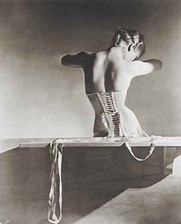 Photo by Horst P. Horst, Mainbocher Corset, Paris, 1939
