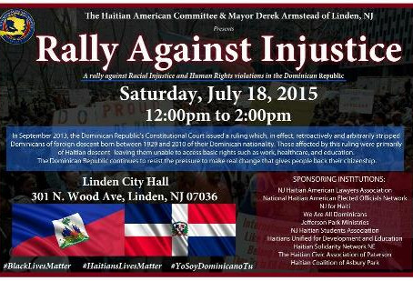 Haiti Rally!!!!                                        Come stand in solidarity with those of us who