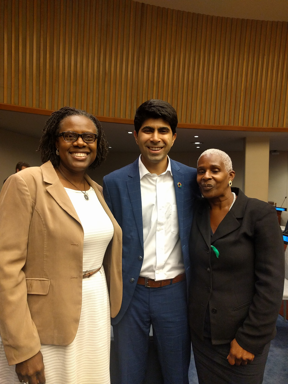Wynnie-Fred Victor Hinds,  Ankit Kawatra, Feeding India & SDG Younf Leader and Wandalynn Miftahi