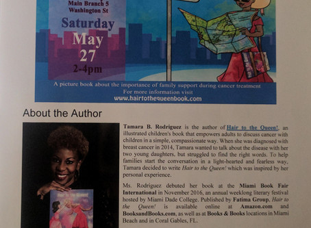 Book Reading and Signing at the Newark Public Library-Main Branch, Saturday, May 27, 2:00pm-4:00pm