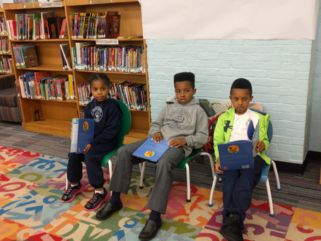 The Daniels Kids Wow Audience at the Irvington Public Library!!!