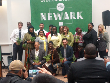 STEPPING STONES RESOURCES & AL MA'IDAH ORGANIC COMMUNITY GARDEN RECIPIENTS OF WHOLE FOODS&#3