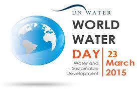 Celebrate World Water Day 2015!!!