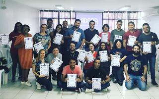 Membros da PasCom participam de curso em Brasília