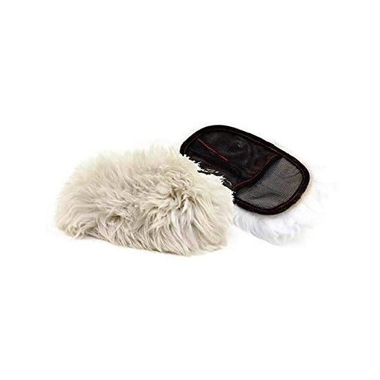 Wool wash mitt כפפת פרווה לשטיפה