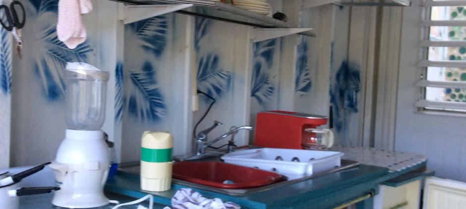 Studio casita kitchen