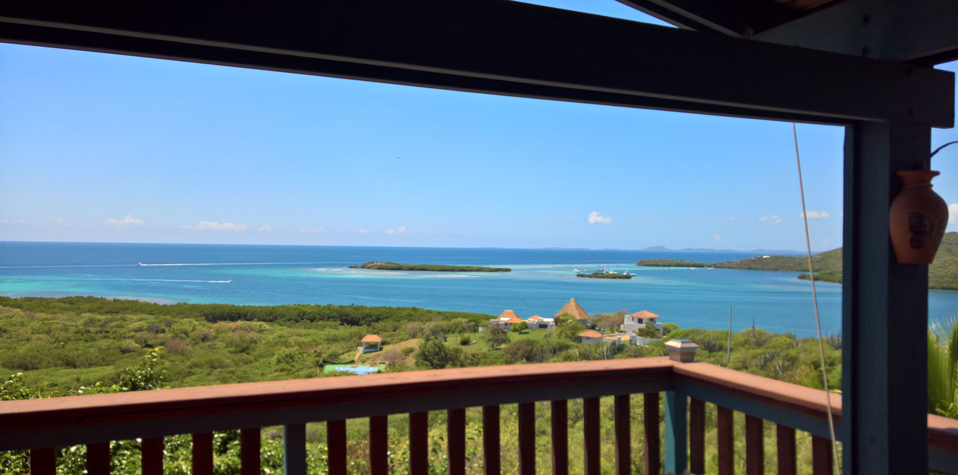 View to Vieques and Manglar Bay