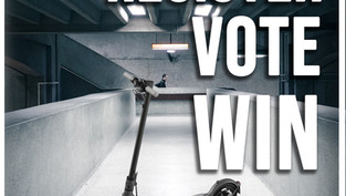 Want to be in with a chance of winning an electric scooter worth €400?