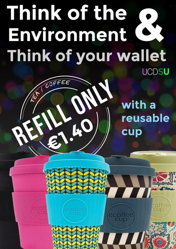 Coffee or Tea Refill only €1.40