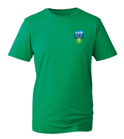 UCD ORGANIC TSHIRT GREEN