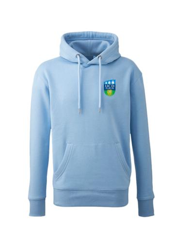 ORGANIC UCD College Hoodie BLUE