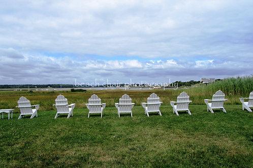 Adirondacks In A Row