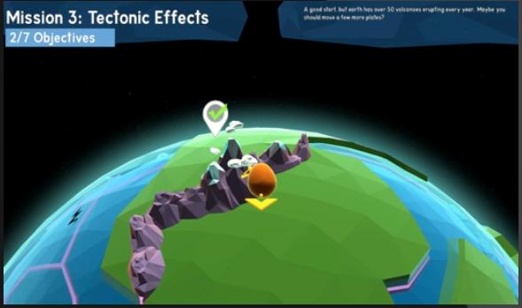 GEOMOTO Planetary Explorer
