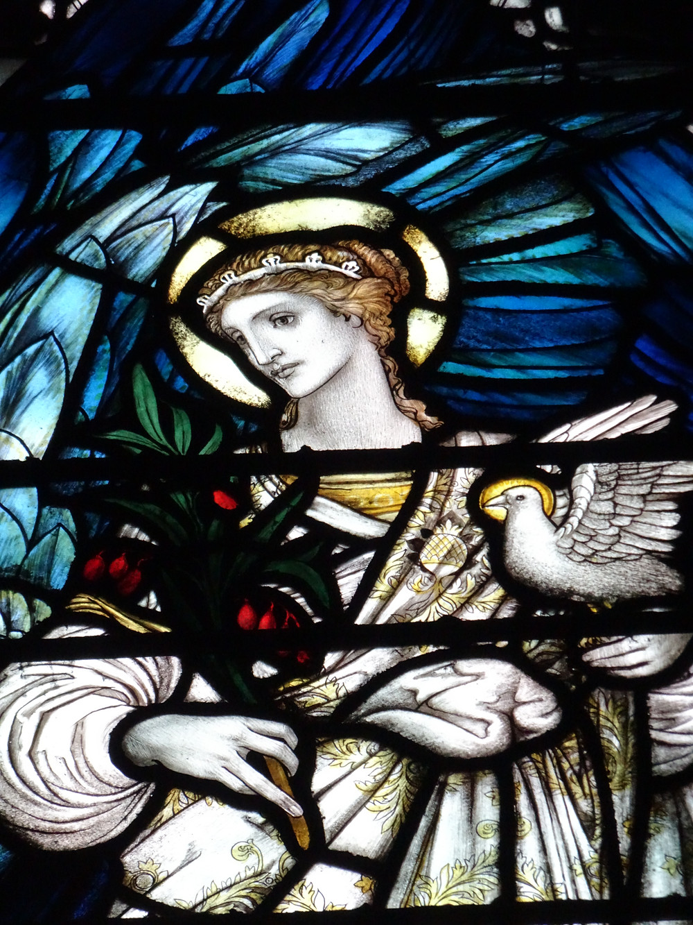Archangel Gabriel, South Transept, Chester Cathedral