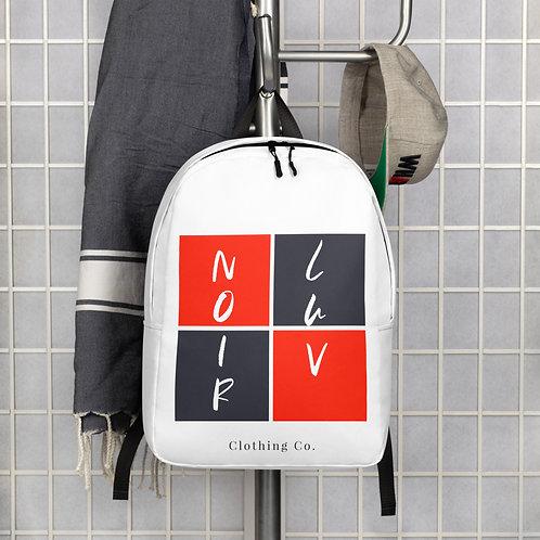 Noir Luv Backpack (White)