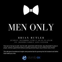 Men's Only Talk