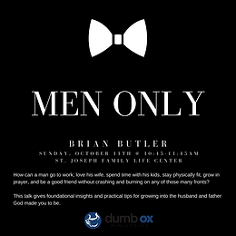 Men's Only Talk