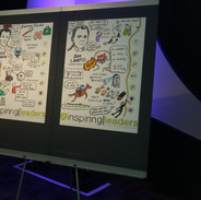 Graphic Recordings from the Inspiring Leaders Conference