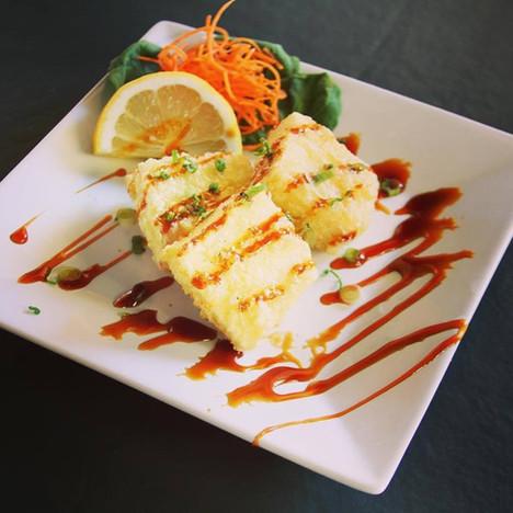 Fried Agedashi tofu